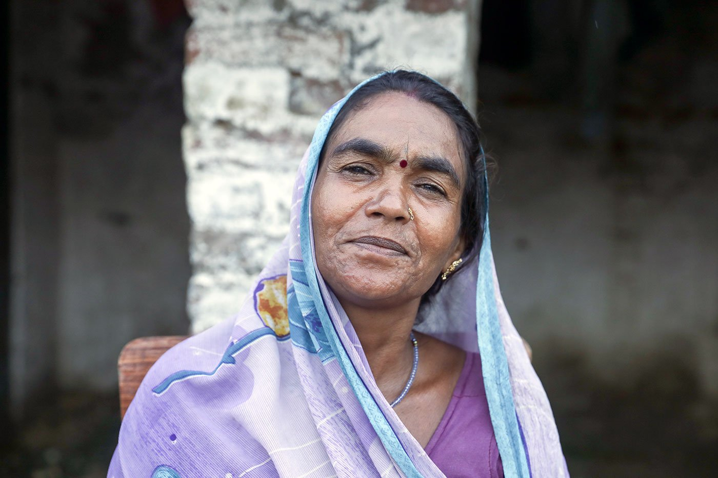 Lalmati Devi, 51, discontinued treatment as she found it physically uncomfortable