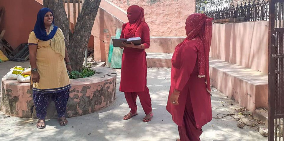 ASHA workers in Haryana's Sonipat district have been pushed to the frontlines of the fight against Covid-19 in a later-than-last-minute attempt to control a pandemic – with no safety gear and very little training