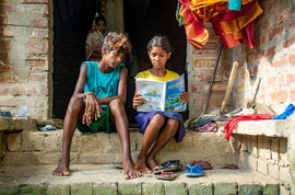 The slowly disappearing students of Sundarbans