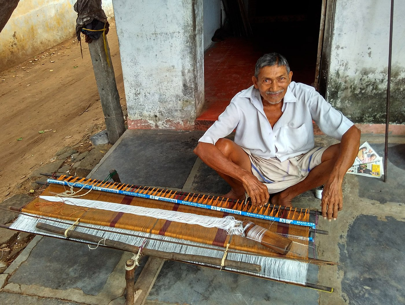 Most of the handloom weavers in Pedana in Andhra Pradesh are elderly, as are many of the town's Kalamkari printers – a lack of state support and poor incomes have impacted both industries and forced the younger generation to migrate for work