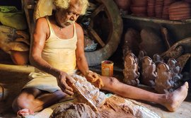 Vizag potters: idols of clay, immersion in debt