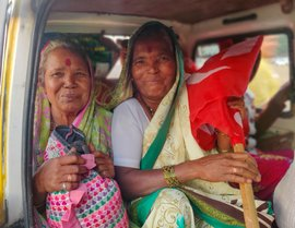 Mangal and Mirabai: sisters in farmers' struggle