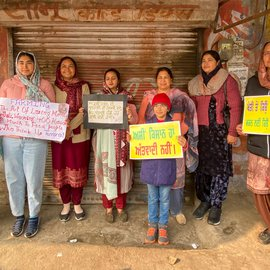 Women are central to agriculture in India, and many – farmers as well as non-farmers, young and old, across class and caste lines – are present and resolute at the farmers' protest sites around Delhi