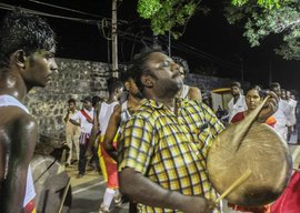 In Tamil Nadu: playing Parai on lockdown, live!