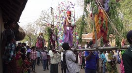 Devotion, perforation and pain in Purulia