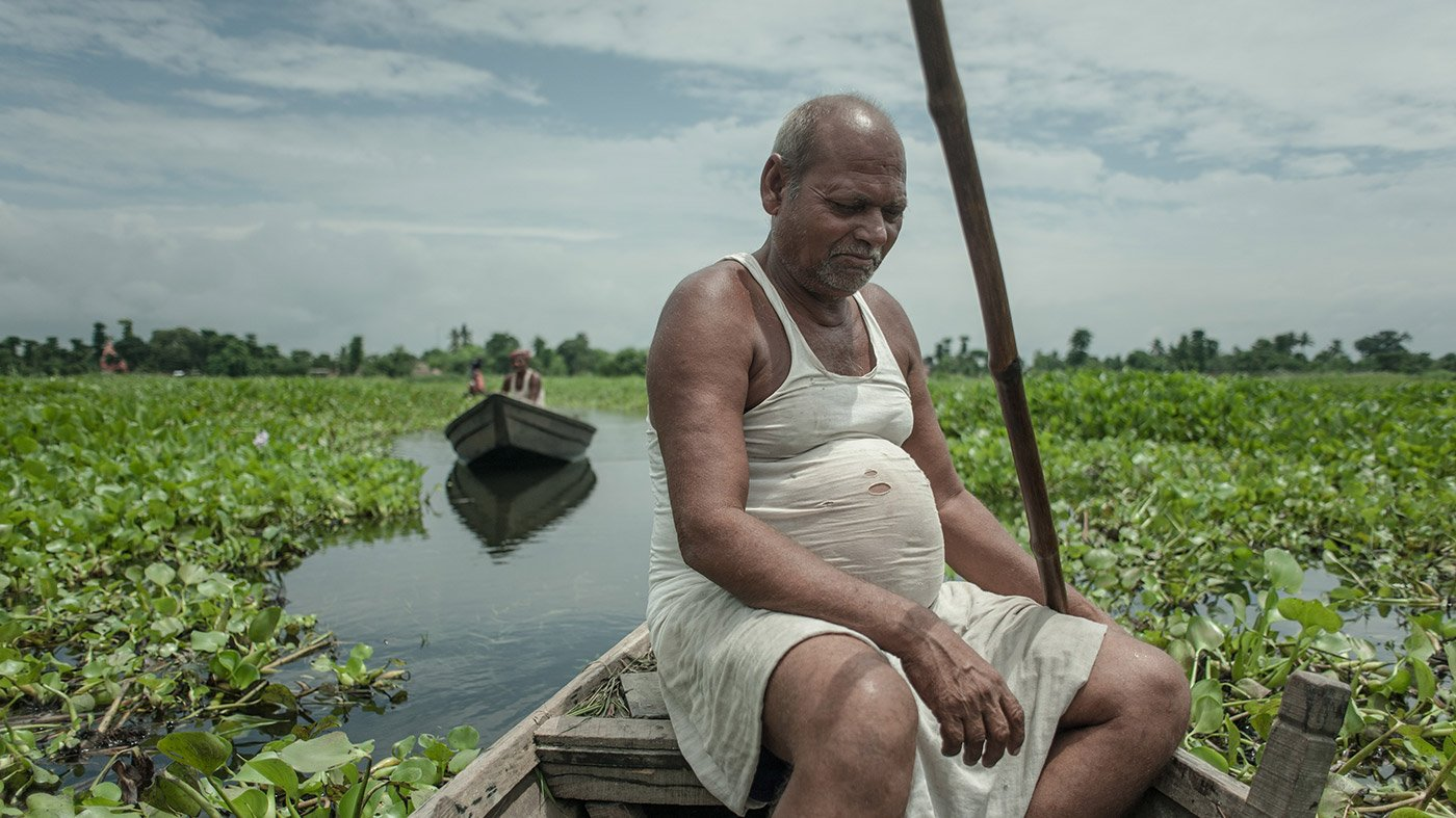 Vinod Yadav is a farmer from North BIhar who tries to farm in floods