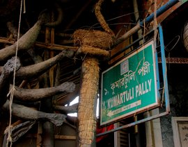 Journey through Kumartuli