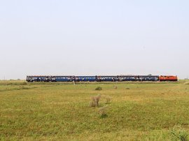 Train stories from rural India