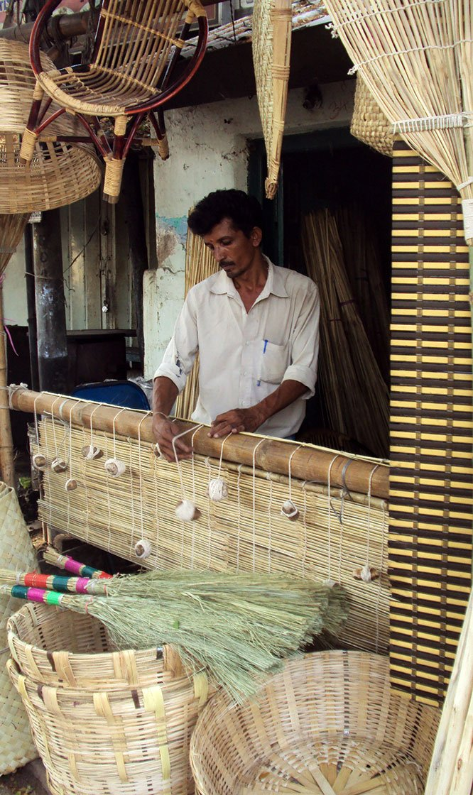 Bala in his shop