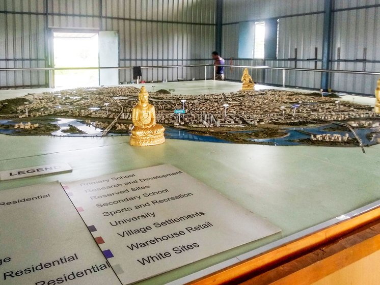 A sample idea of the future city of Amaravati