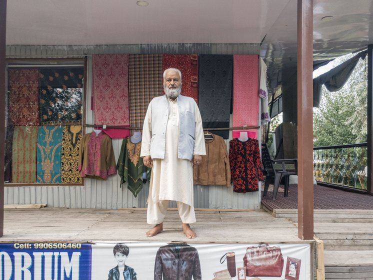 'Just when the tourist season was to start after that shutdown, this lockdown started', says Majid Bhat, president of the Lakeside Tourist Traders Association