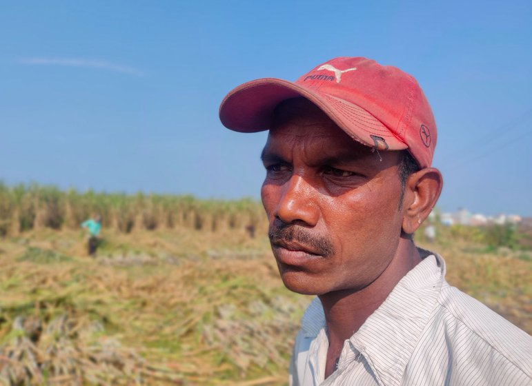 Ramesh Sharma makes more money as a farm labourer in Haryana than he does cultivating his land in Bihar's Shoirgaon village
