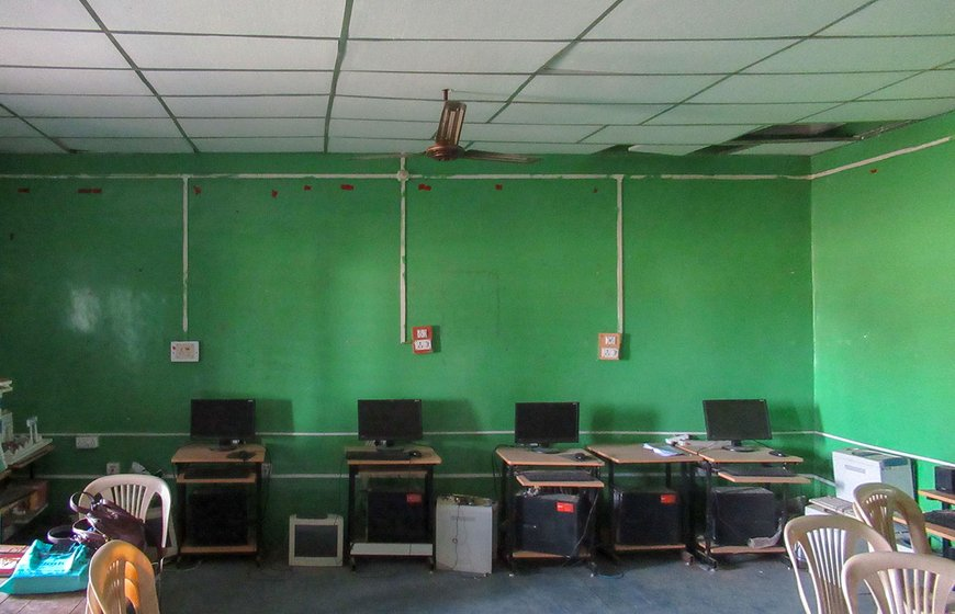 Osmanabad ZP school computers