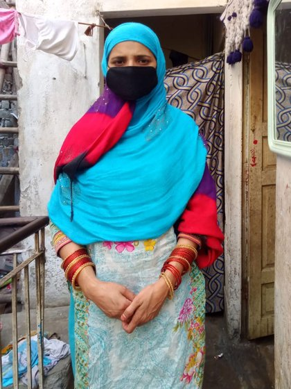 When Rukhsana and her family couldn't pay rent for their room in West Delhi, the landlord asked them to leave