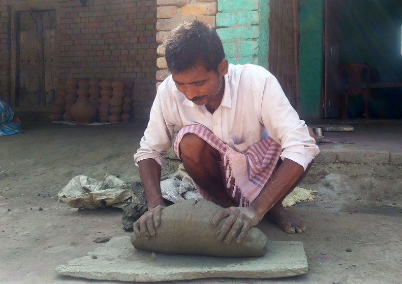Sudama preparing dough