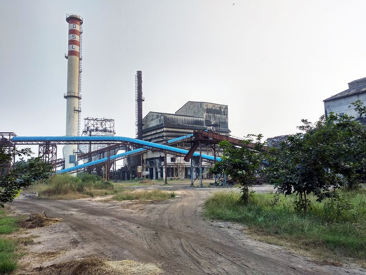 Delta Sugars factory. Work halted inside the sugar mill