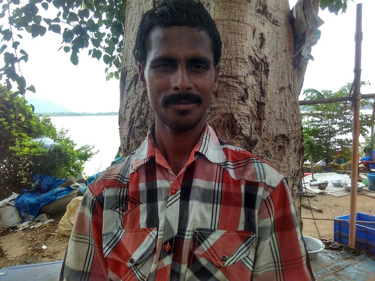 Narayana, the visually challenged fisherman