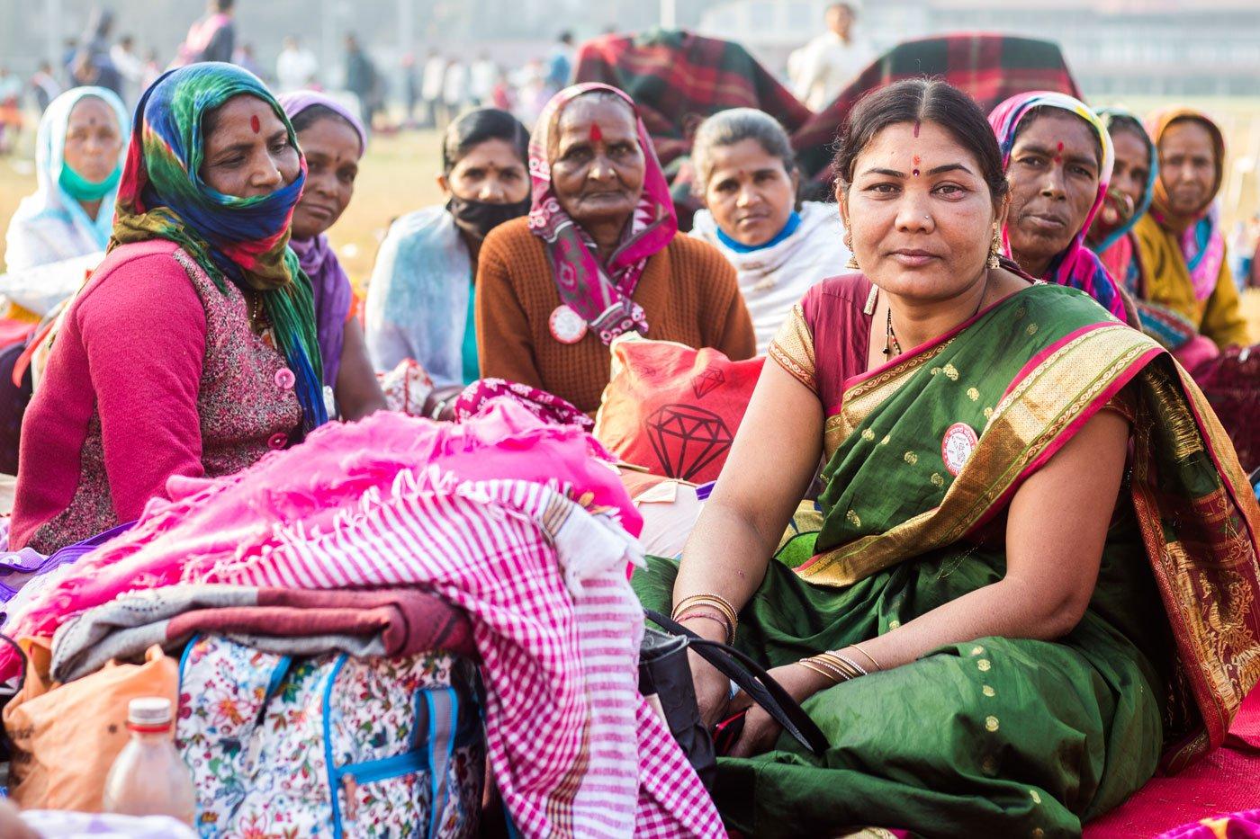 Women farmer protesting against farm bill 2020