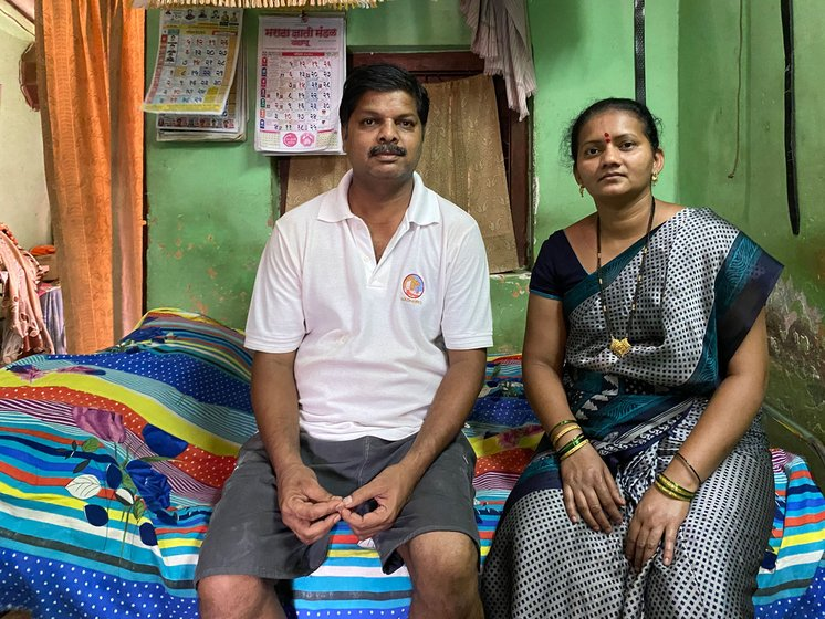 Santosh and Samita More have been ironing clothes for 15 years; they have used up their modest savings in the lockdown weeks and borrowed from relatives