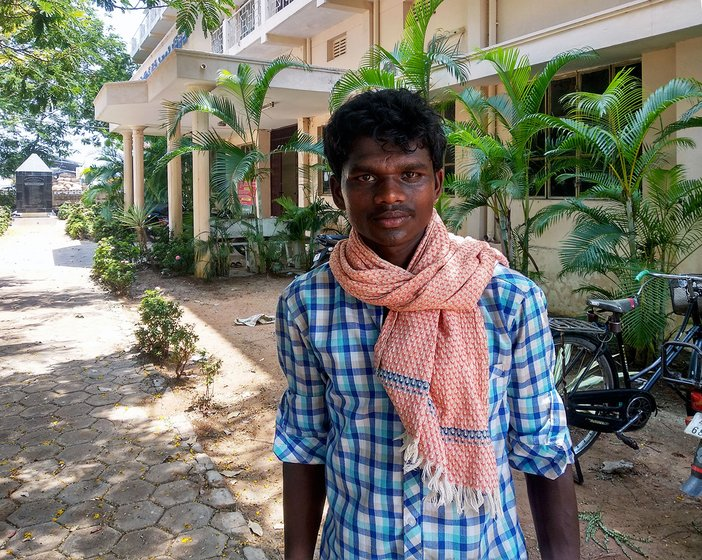 Mohammad Khasim, 24 from Tripuranthakam village in Prakasam district.