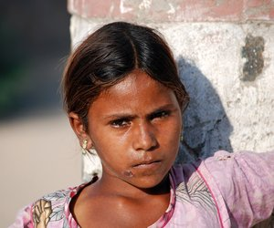 A girl child from Rajasthan