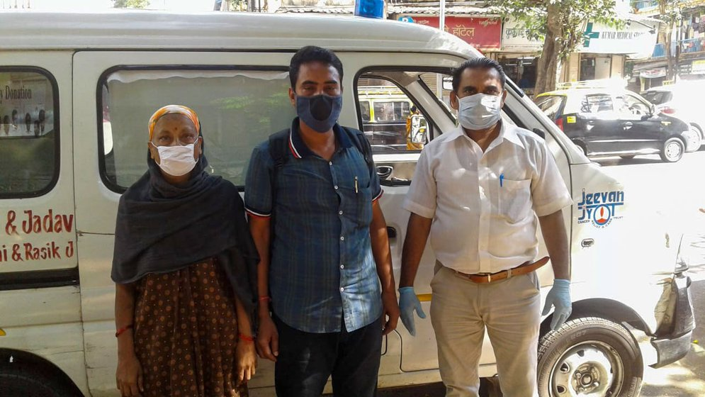 For a while, a charitable trust offered ambulance assistance to Geeta and Satendar to reach the hospital from faraway Dombivali