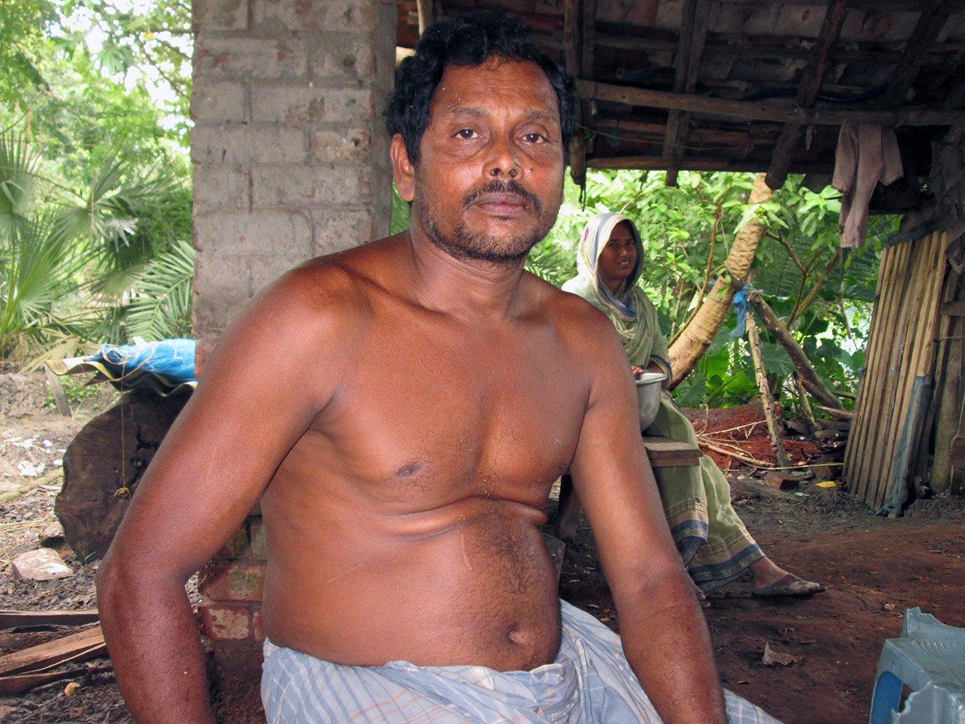 a man whose ancestors migrated