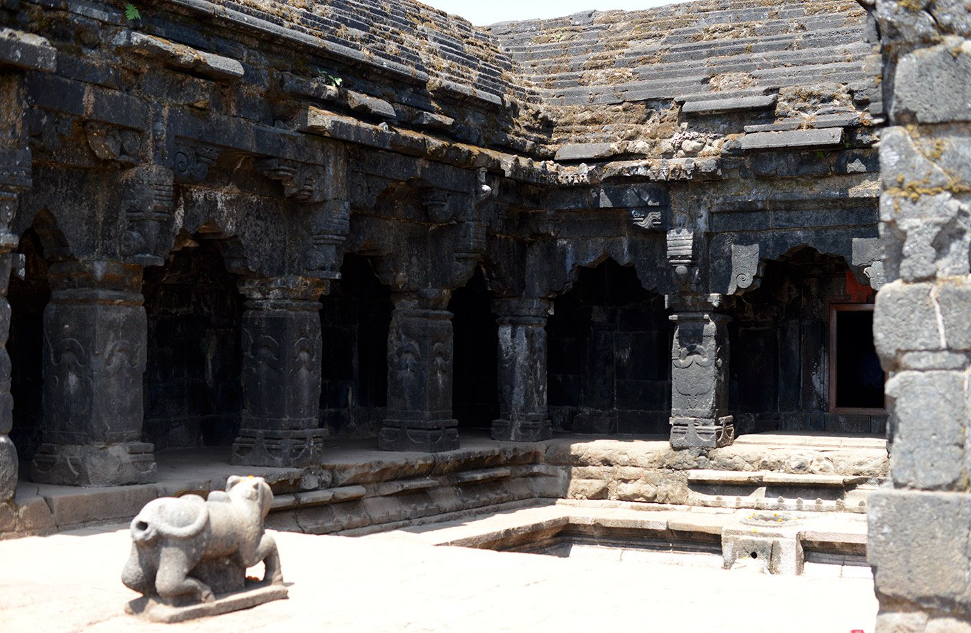Old stone temple