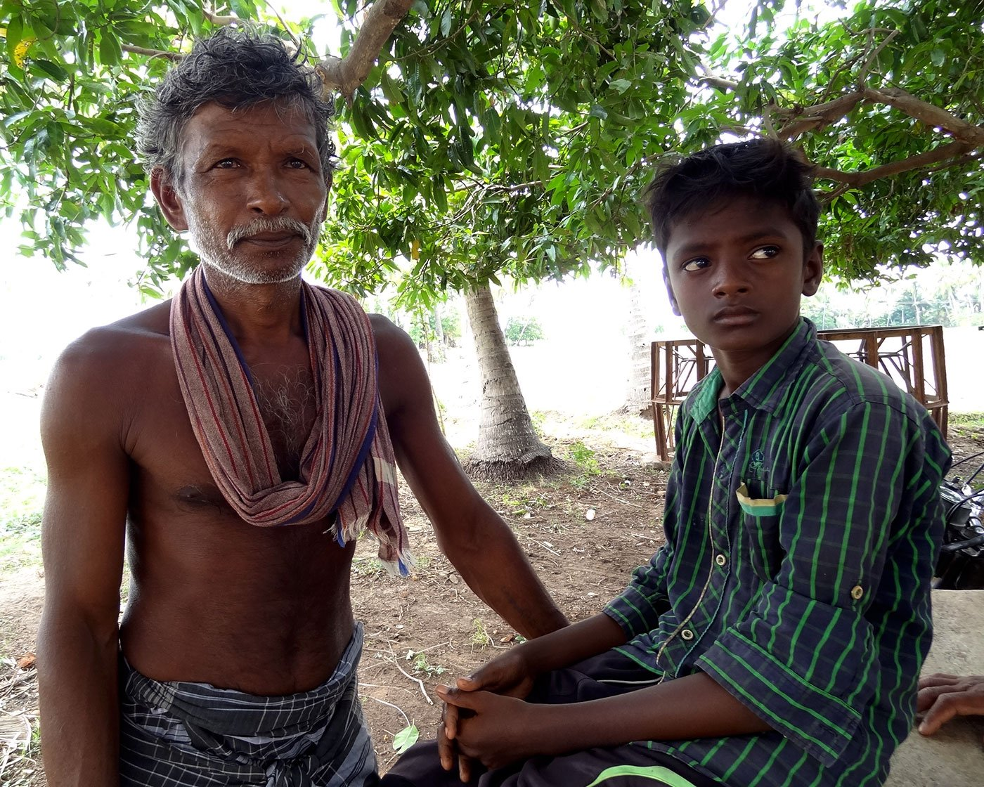 Inbaraj, a fellow-villager, narrates the same story; that of a ravaged farm economy in the Delta drought.