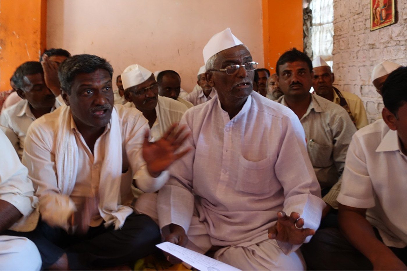 In Nagur village, agitated farmers explain that the loan amounts have been inflated