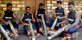 The bamboo drummers of Kasargod