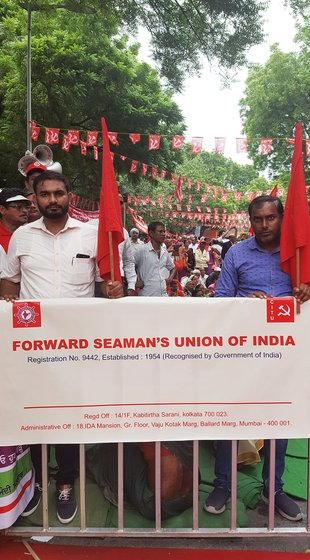 Akshay Birwadkar, secretary of the Forward Seamen's Union of India, explains the worsening plight of formaslised and informal seamen