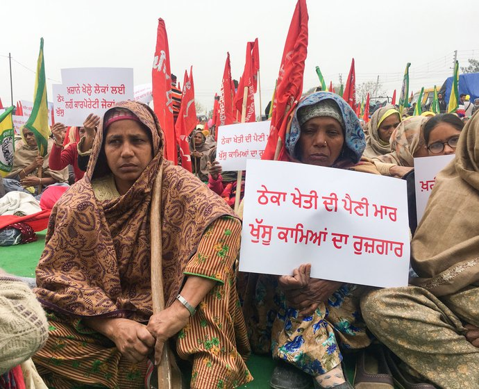 Many farmers have been camping at Tikri and other protest sites in and around Delhi since November 26, while others join in for a few days, then return to their villages and inform people there about the ongoing agitation