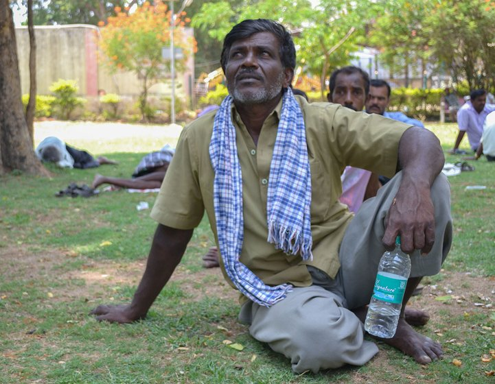 Puttana has worked as a manual scavenger for 11 years. In that time 2 national elections and three state elections have passed, but none have made a difference to his life.