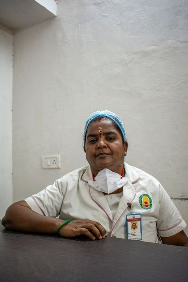'For nurses, the lockdown is far from over', says Gopala Devi, who has spent time working in the Covid ward of a Chennai hospital