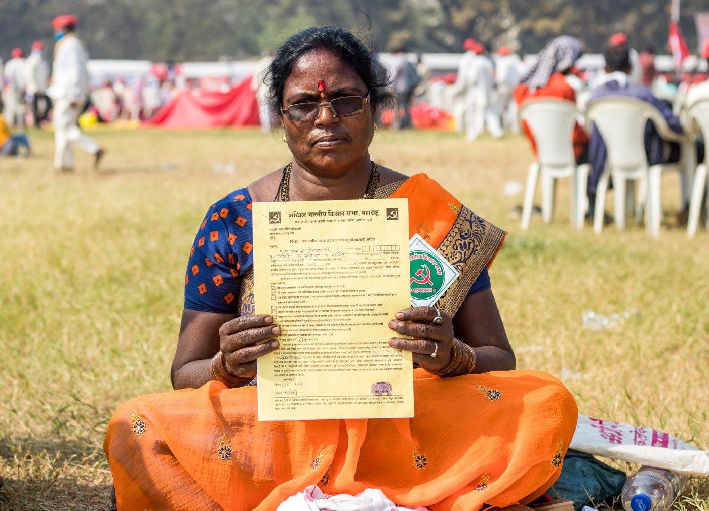 The farmer protest against the new farm bill