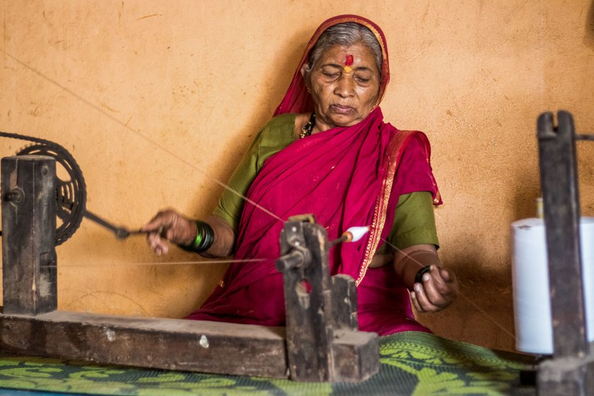 Vasant Tambe retired as a weaver last year; for 25 years, he also worked as a sugarcane-cutter on farms. The lockdown has rocked his and his wife Vimal's fragile existence