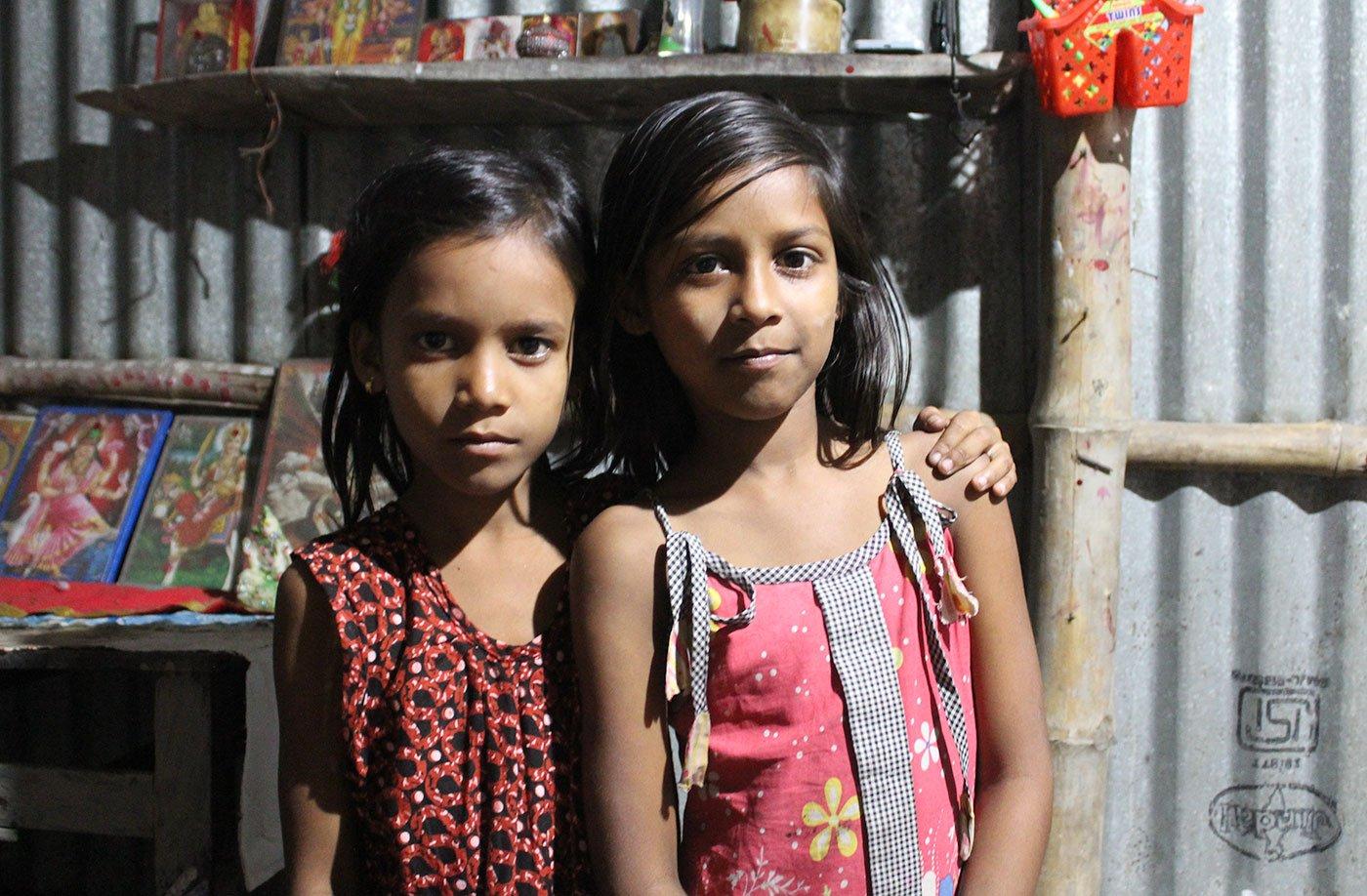 Breshpati Sardar's daughters