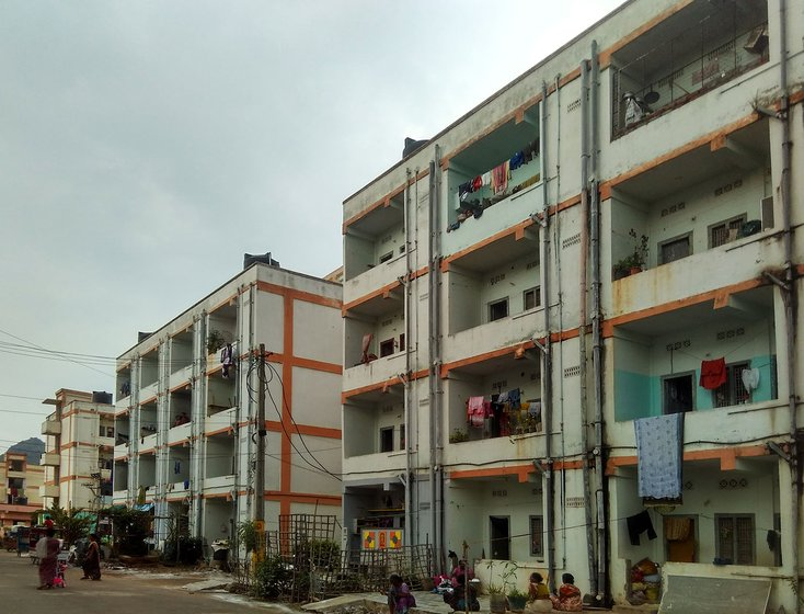 Houses and flats at YSR Colony