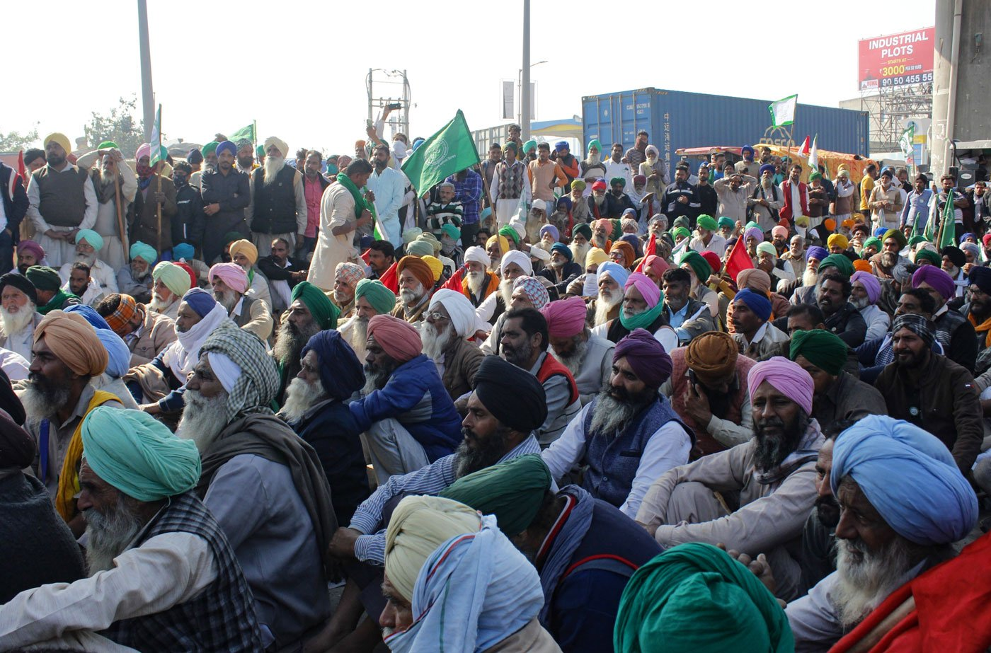 The farmers at Delhi's gates are fighting for a cause much larger than the repeal of three unjust laws. They are fighting for the rights of us all.