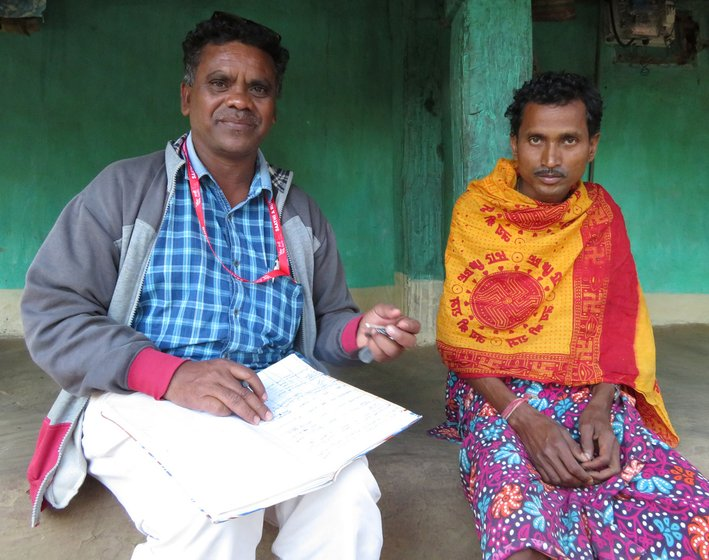 Although the Benoor PHC maternity room (left) is well equipped, Pramod Potai, a Gond Adivasi and NGO health worker says many in his community seek healthcare from unqualified practitioners who 'give injections, drips and medicines, and no one questions them'