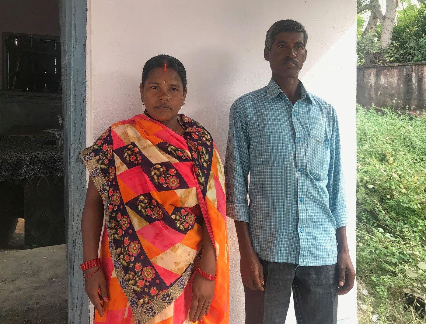Vikas Mitra Malati Kumar and Nandkishore Manjhi: 'We work as a team. I talk to the women, he talks to their husbands', she says