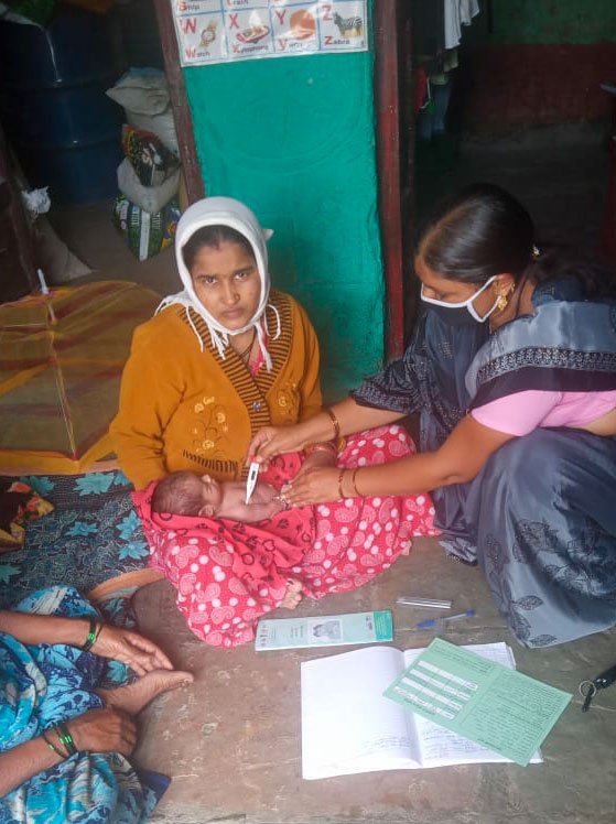 Like other ASHAs, Shakuntala has been monitoring the health of pregnant women and newborns during the lockdown