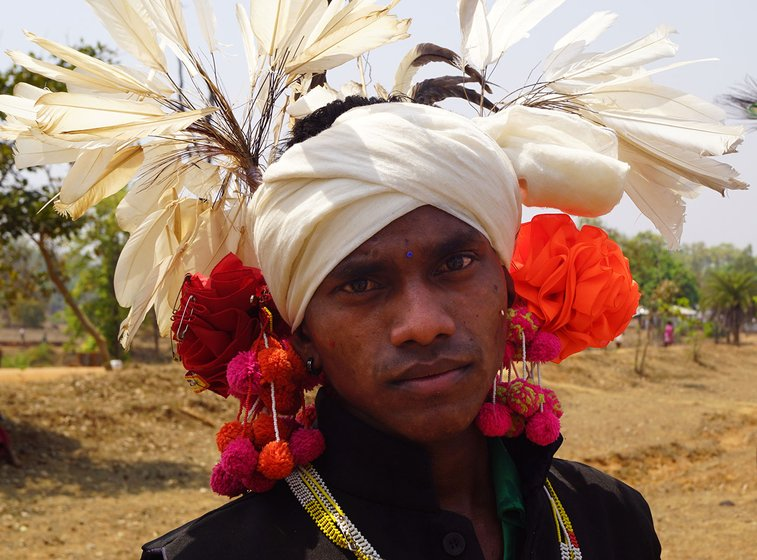A person in a traditional attire