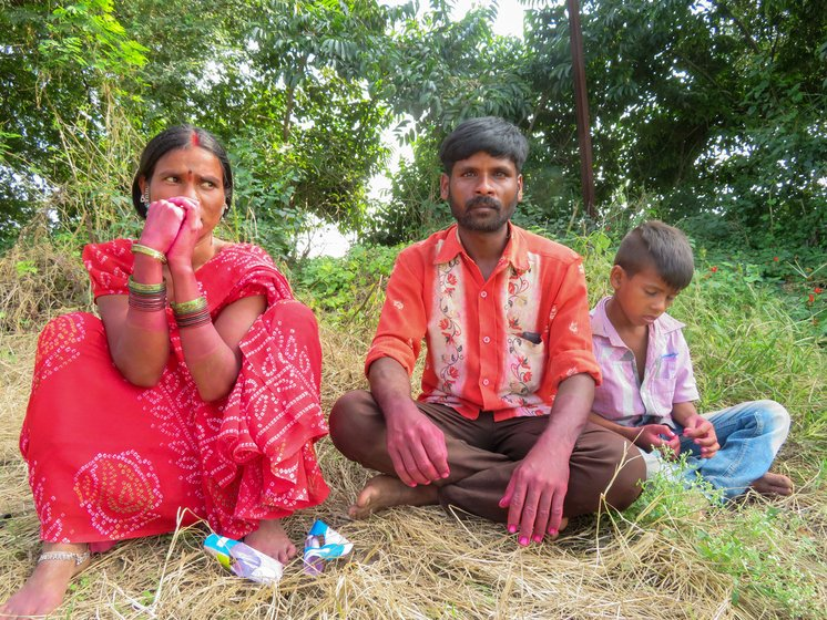 Sunil and Uma Wasale are landless farm labourers, whose work has nearly dried up this year