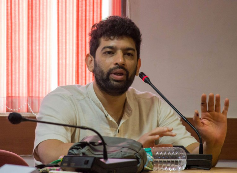 Siddharth Chakravarty, from the Delhi-based Research Collective, a non-profit group active on these issues