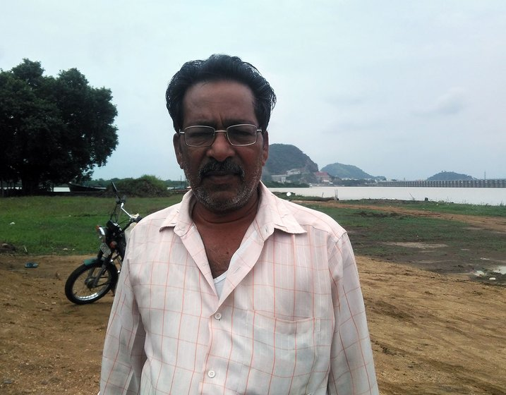 Venkata Narayana, President of the Polakampadu Fishermen Cooperative Society