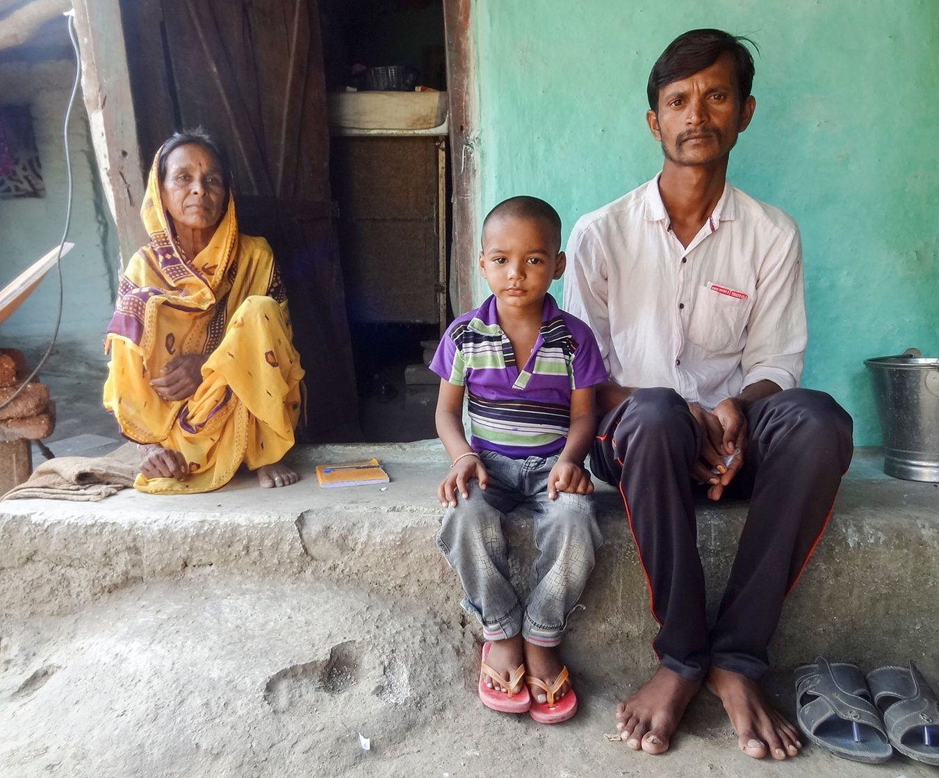 In Chahand village of Ralegaon tehsil, Archana Kulsanghe, 30, became an unusual victim in an elephant attack. The tragic story unfolded as one of the elephants deployed during Operation Avni, went berserk and fled from the base camp, only to trample two people, Archana being one of those. At her home, her husband Moreshwar sit grieving his wife's demise, as his younger son Nachiket, clings on to him. The elephant trampled her when Archana was collecting the cow-dung in front of her hut near the cart; the Gajraj came from behind the neighbourer's home, rammed into a toilet structure, and broke the shed built along the hut. After trampling Archana, it went to the neighbouring village of Pohana before it was reigned in. Purushottam's mother Mandabai is sitting along the door of their hut
