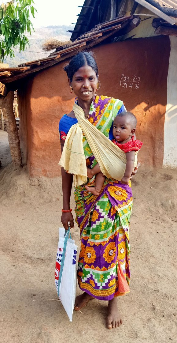 Samari Khillo of Tentapali hamlet says: 'We depend more on daima than the medical [services]. For us, they are doctor and god'