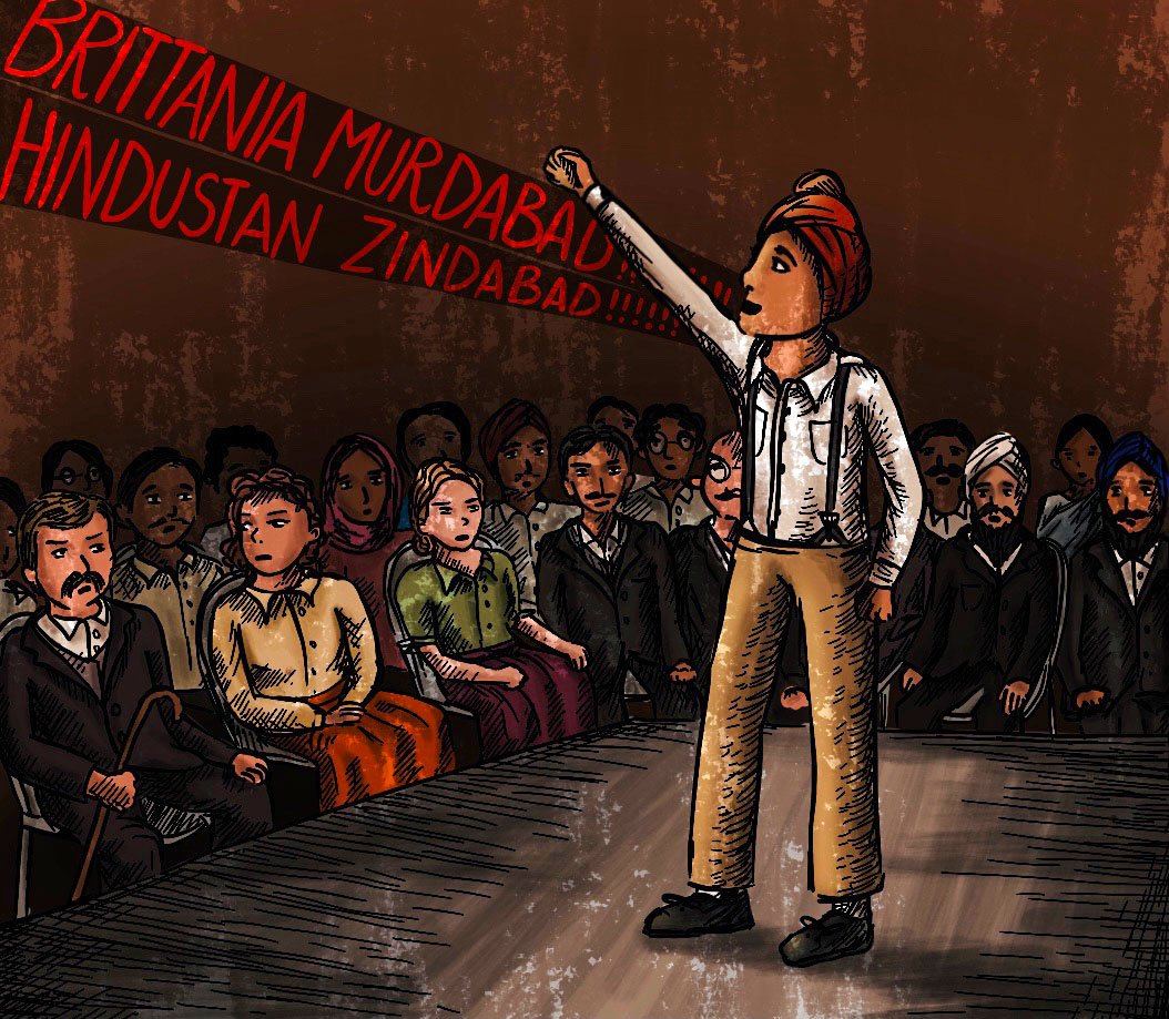 After being expelled from school in Class 3, Bhagat Singh Jhuggian never returned to formal education, but went to be a star pupil in the school of hard knocks (Illustration: Antara Raman)